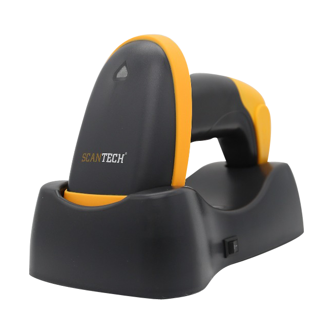 2D Long Distance Wireless Barcode Scanner